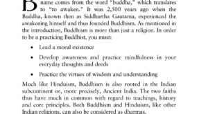 Buddhism for Beginners - Book Layout Design