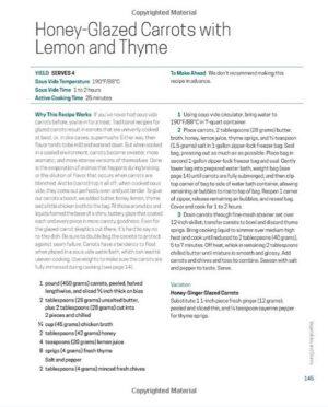 "Cookbook Layout Design – ""Sous Vide for Everybody"" (paperback)"