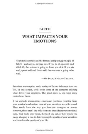 """Layout Design of """"Master Your Emotions"""" book (Paperback)"""